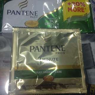 Pantene shampoo and conditioner