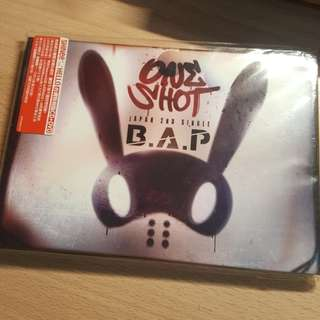 BAP one shot japan 2nd single cd+dvd