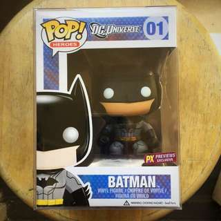 Funko Batman PX Previews Exclusive and vaulted