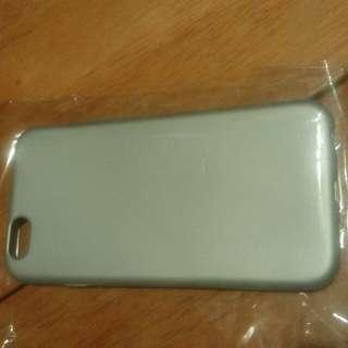 全新iPhone 6/6s 手機套 case - 銀色軟套