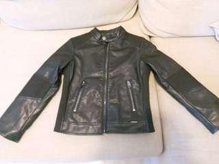 Diesel Boys' faux-leather jacket