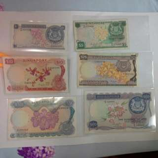 Singapore Orchid Notes Set