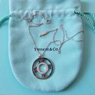 18k Tiffany Atlast Diamond Necklace