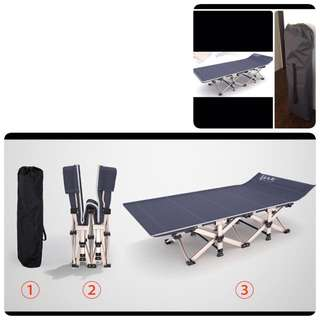 Light portable bed with Carrier - Premium Quality
