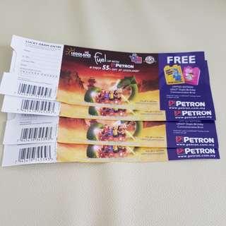LEGOLAND discount tickets voucher
