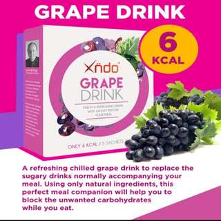 (25% Offer!) Xndo Carbohydrate Blocker Grape/Mango Drink