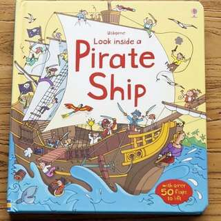 🚚 Usborne Look Inside a Pirate Ship