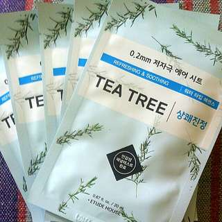 Etude House 0.2 Therapy Air Mask (Tea Tree)
