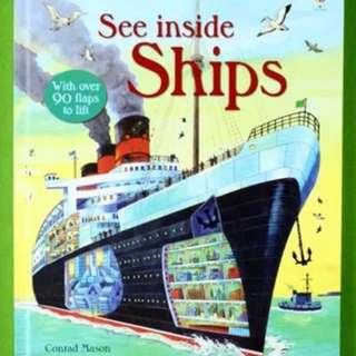 Usborne See Inside Ships