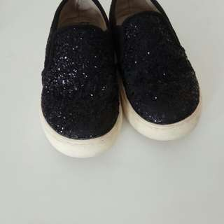 preloved Glitter Loafers Shoes