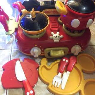Mickey Mouse Cooking Play Set