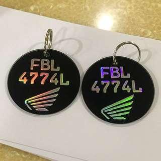 Keychain customize 🌞🛑