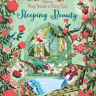 Usborne Peep Inside a Fairy Tale - Sleeping Beauty