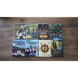 Various Concert DVD's for Sale
