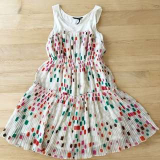Lily Pleated Dress (Fits size S)