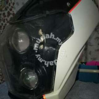 Head lamp naked cf moto 600cc