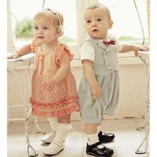 Lace dress romper