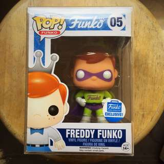 Funko Freddy Exclusive Superhero 05 Limited Edition