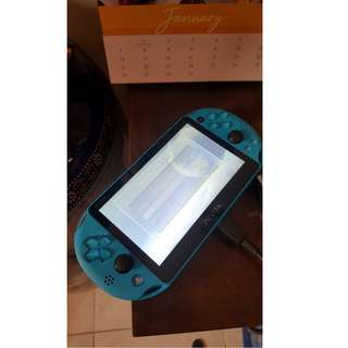 PS Vita (Aqua Blue) 16GB memory (expandable)