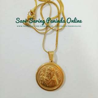 Saint Benedict Stainless necklace