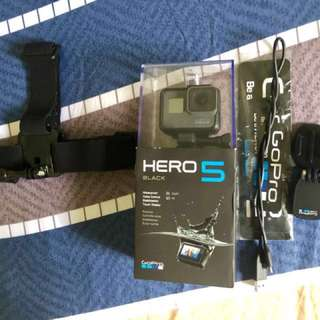 GoPro Hero 5 Black with Micro Memory Card