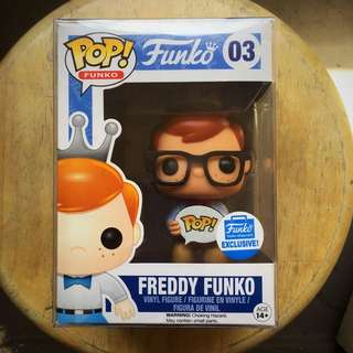 Funko Freddy Exclusive Nerd 03 Limited Edition