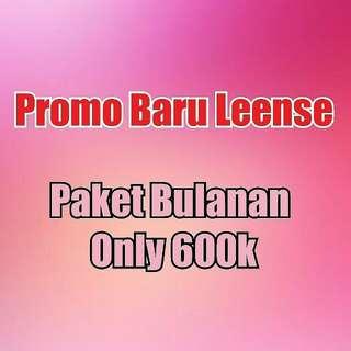 Promo baru leense
