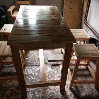Meja + bangku