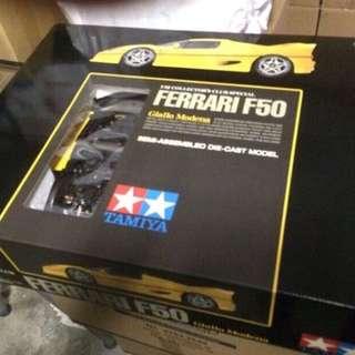 1/12 Ferrari F50. Yellow. Tamiya.