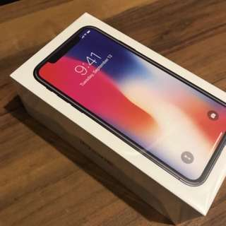 [BNIB] IPHONE X 64GB - space grey [NON NEGOTIABLE]