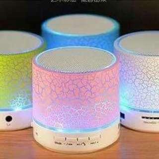 Mini Bluetooth speaker with light