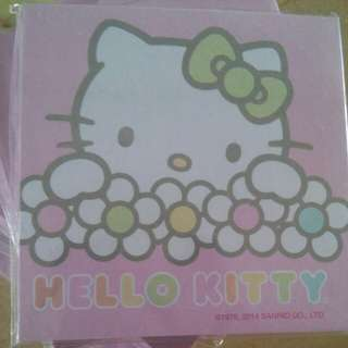 Hello kitty memopad(Sanrio authentic)
