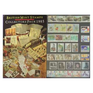 British Mint Stamps - Collectors Pack 1985
