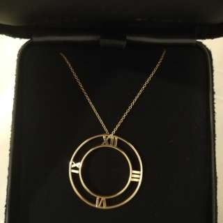 Tiffany & Co. Atlas round pendant in 18k Gold
