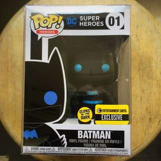 Funko Batman Silhouette glow in the dark Entertainment Earth Exclusive
