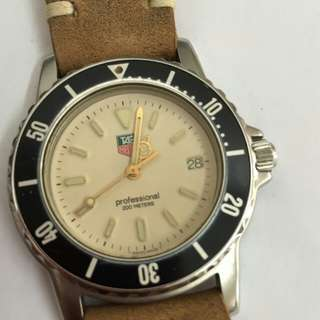 Vintage arloji Tag Heuer Diver