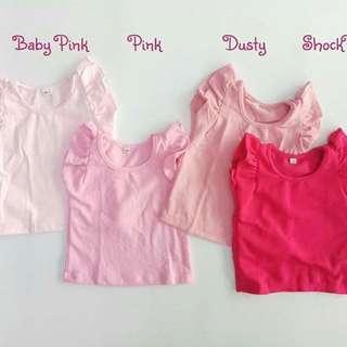 Paket Usaha Baju Anak/Girl Tee/T Shirt Anak HnM