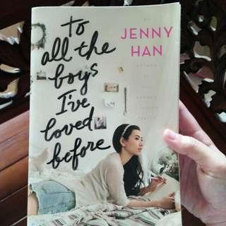 Novel Import To All the Boys I've Loved Before
