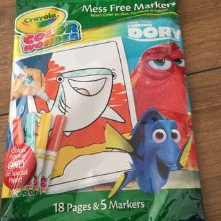 Crayola colour wonder mess free markwts