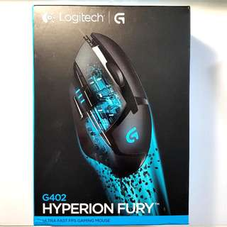 GREAT CONDITION Logitech G402 Hyperion Fury FPS Gaming Mouse