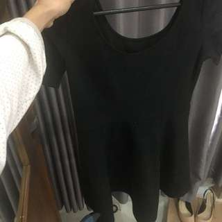 Mini Black Dress H&M