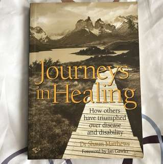Journeys in Healing: How Others Have Triumphed over Disease and Disability by Dr Shaun Matthews