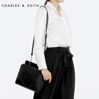 Authentic! Charles and Keith Sling Black Bag
