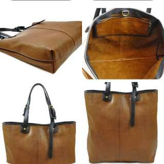 SALE!!! Coach Bleecker genuine leather bag