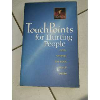 Book Touch Points for Hurting People
