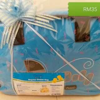Pureen regular diaper bag /Pureen Hamper