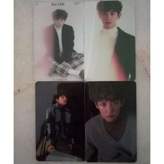 EXO unofficial card sticker