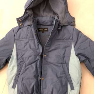 Winter down jacket 6-8yr old