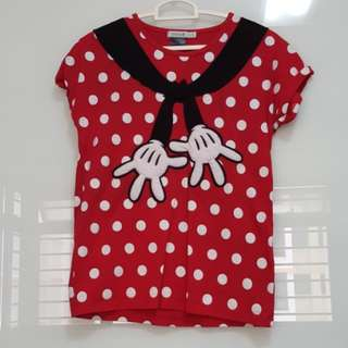 2901 NEW Disney Bossini Minnie Tee