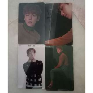 EXO unofficial card sticker
